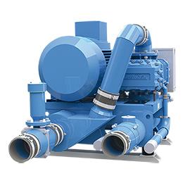 vacuum blower aggregates