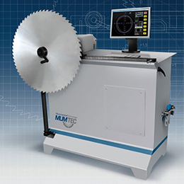 Concentricity and axial run-out and tension testing machine from the company MUMTEC