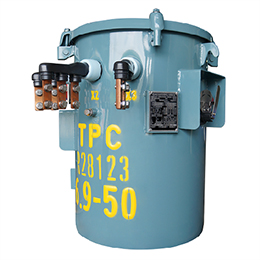 single-phase overhead distribution transformer