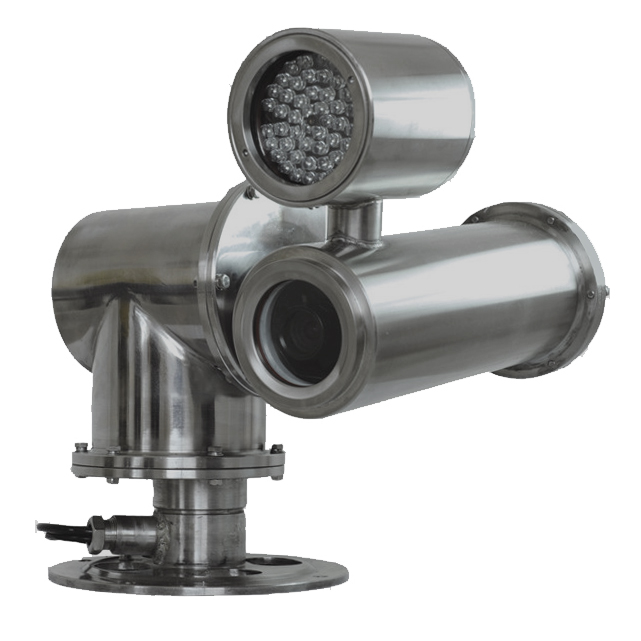Explosion Proof PTZ Camera Systems for industrial use