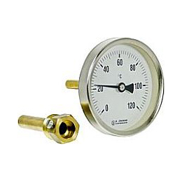 Bimetal thermometers domestic and industrial heating B11