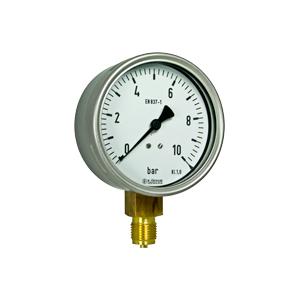 Bourdon tube pressure gauges R10