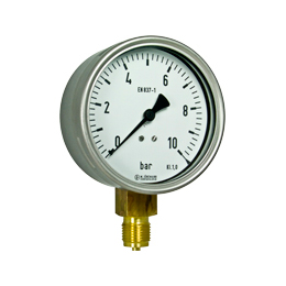 Bourdon tube pressure gauges R10