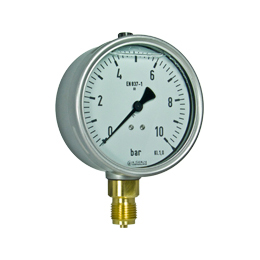 Bourdon tube pressure gauges R11