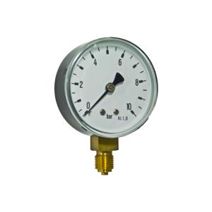 Bourdon tube pressure gauges R16