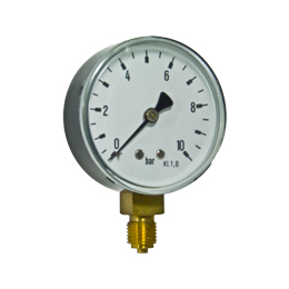 Bourdon tube pressure gauges R16