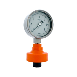 Chemical seals for pressure gauges and transmitters D711
