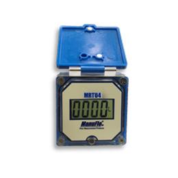 mrtu4 new large 4-digit lcd resettable flowmeter