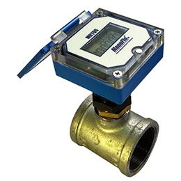 mrtu6 resettable total paddlewheel flowmeters