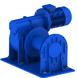 Worm wheel winches-MT-EW