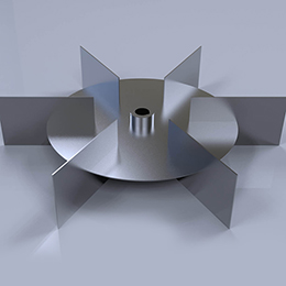 gas dispersion impellers