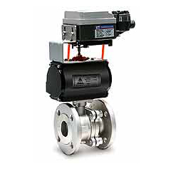 Automation ball valves