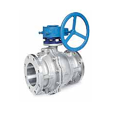 Mounted ball valves