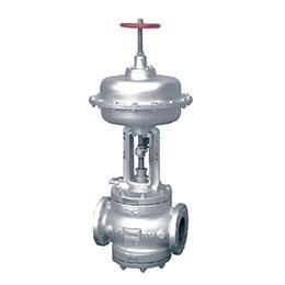 2-way globe control valve