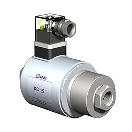Co-ax cryogenic valves