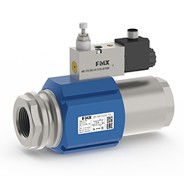 FMX pneumatic coaxial valves