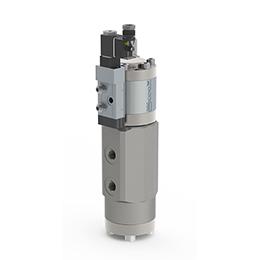 Co-ax high pressure valves