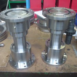 axial travel type gear couplings