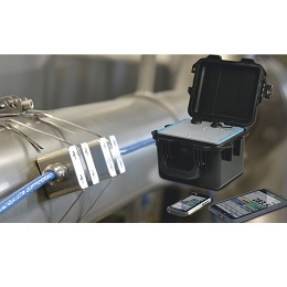 Self sufficient and contactless flow meter