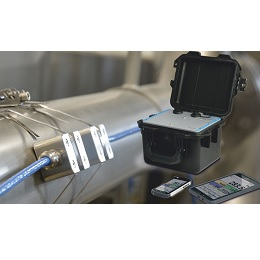 NivuFlow Mobile 600  Self sufficient and contactless flow meter