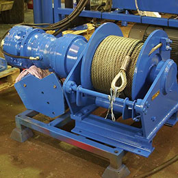 ACTIVE HEAVE CONTROL WINCH