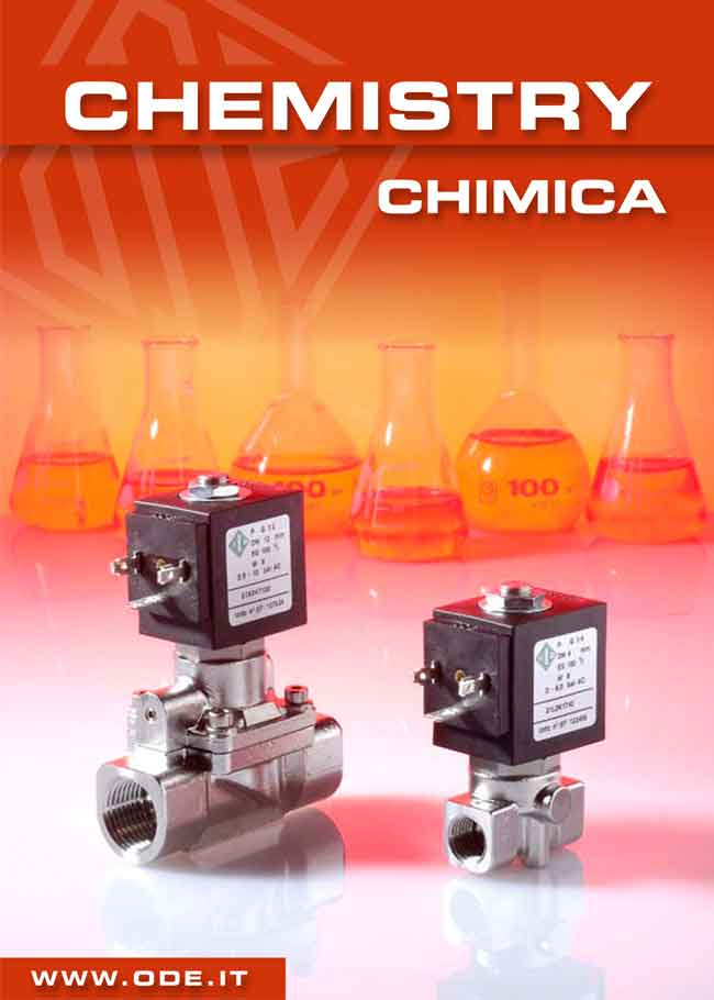 Solenoid Valves for chemistry