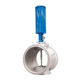 Hot gas mixing valve chm