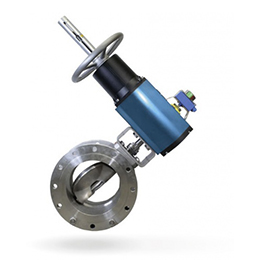 og-triple eccentric butterfly valves and control valve