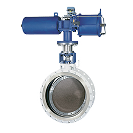 safeflex kx-triple eccentric butterfly valve and damper