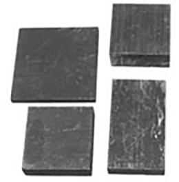 Coarse grained graphite blocks