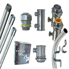 EMT & IMC Pipes & Accessories