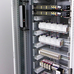 instrument racks-telecommunication panels