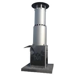 residual biogas burner-flare f