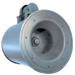centrifan inline centrifugal-housed blowers - belt drive - backward curved