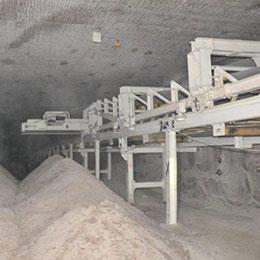 belt conveyor-bunkering-materials storage systems
