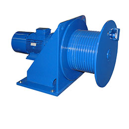 Fd-e electric winch