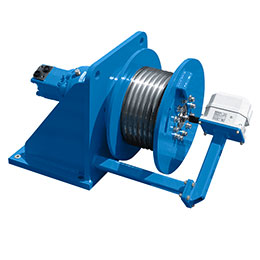Fd-h hydraulic winch