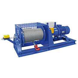 Sb-e electric winch