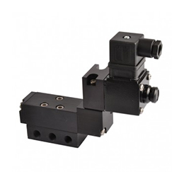Sub-base mounted valves  -  e15–t series 1-8 5-2 function solenoid valve