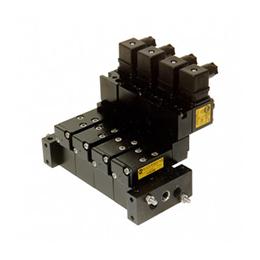 Manifold mounted valves  -  e15–v series 1-8 5-2 function solenoid valves