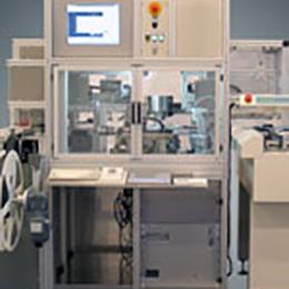 testing and taping machine