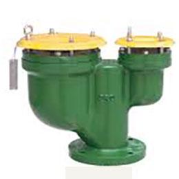 Combination air release-vacuum breaker valve