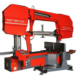 karmetal kmt 700 kdg semi-automatic structural mitre band saw