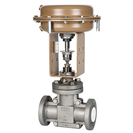 521 total tfe globe-pattern control valve