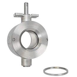 ramen ball sector valve ks-high temperature