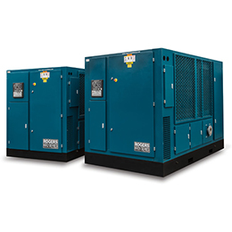 kr2-kr2v series two-stage rotary screw compressors