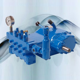 HIGH PRESSURE PUMPS - 345 SERIES
