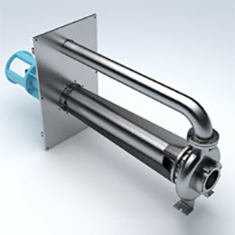 vertical spindle-cantilever pump
