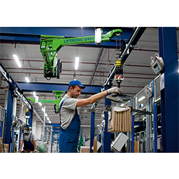 Overhead lift assist device