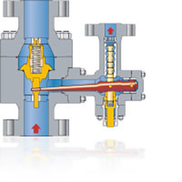pump protection valves type mrm